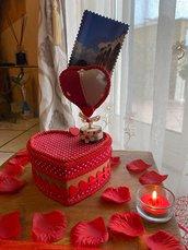 Scatola cuore San Valentino