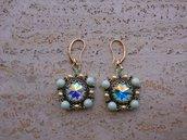 Orecchini di perle swarovski