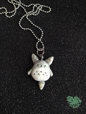 Ciondolo Totoro in fimo