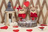 vasetto con orsetto- San valentino