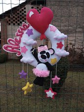 Fiocco nascita...una tenera panda