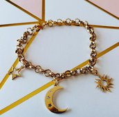 Bracciale Gold con charm