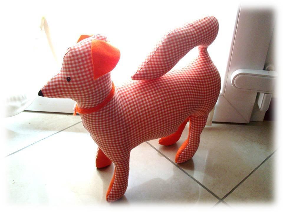 Cagnolino stoffa- pupazzo cane