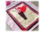 Borsa stoffa sweet girl- pink bag