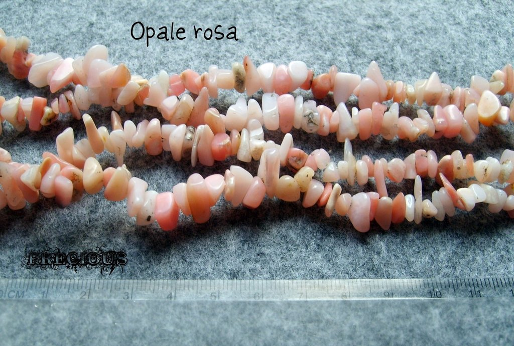 1 strand chisp opale rosa