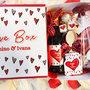 IDEA REGALO SAN VALENTINO LOVE BOX PERSONALIZZATA