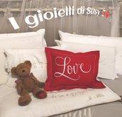 Cuscino Love rosso