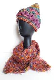 Set cappello e sciarpa coordinati