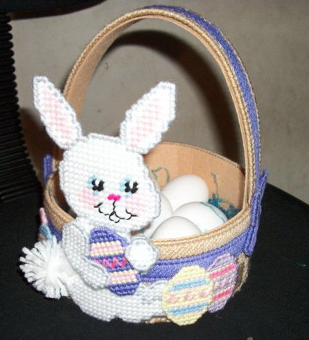 Handmade Easter Bunny Basket