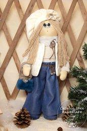Bambola Anastasia - in stoffa