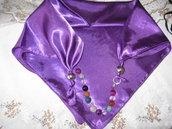 foulard-gioiello viola
