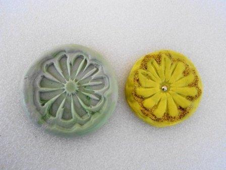 Stampo fiore giallo