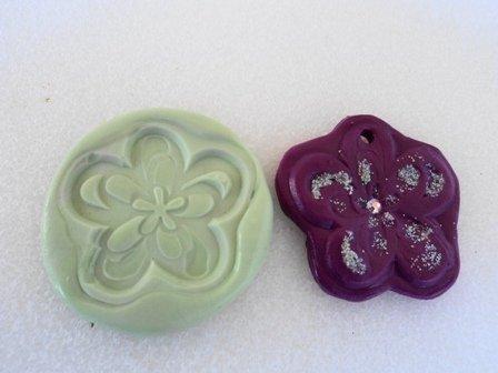Stampo fiore rosa