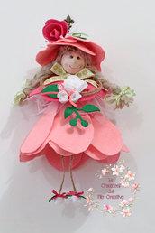 Bambola Pigottina Regina di Fiori