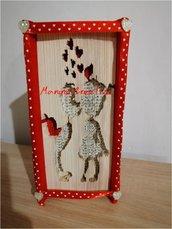 Libro scultura bimbi in love decorato