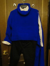 Fatto a mano un maglione del design unico