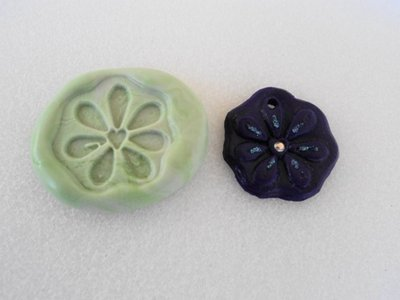 Stampo fiore viola