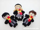 Bomboniera comunione, cresima, compleanno bimbo Harry amigurumi e i suoi amici.