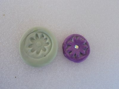 Stampo fiorellino lilla