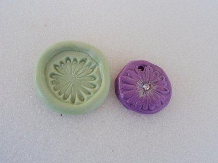 Stampo fiore lilla