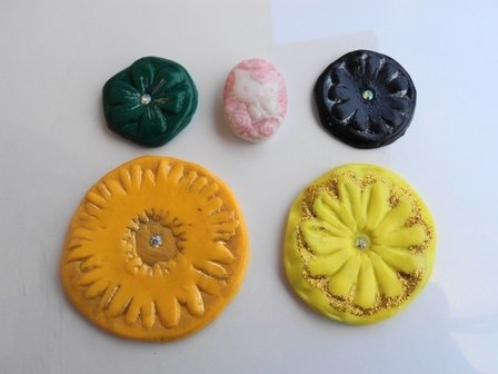 PROMO STOCK cabochons in fimo