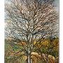 Dipinto su tela originale ALBERO D'INVERNO - Tela dipinta - acrilico su tela - pezzo unico