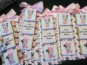 Cioccolatini cioccolatino personalizzato cartoncino segnaposto tavola etichetta laurea battesimo 18 anni