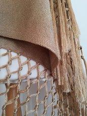 Stola in lurex handmade in capri