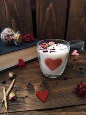 Sweet Valentine - Candela in cera di soia