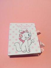 Scatolina minu minù Marie Aristogatti caramelle segnaposto confetti compleanno nascita