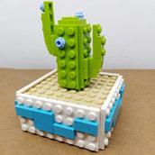 Bomboniera Cactus Azzurro