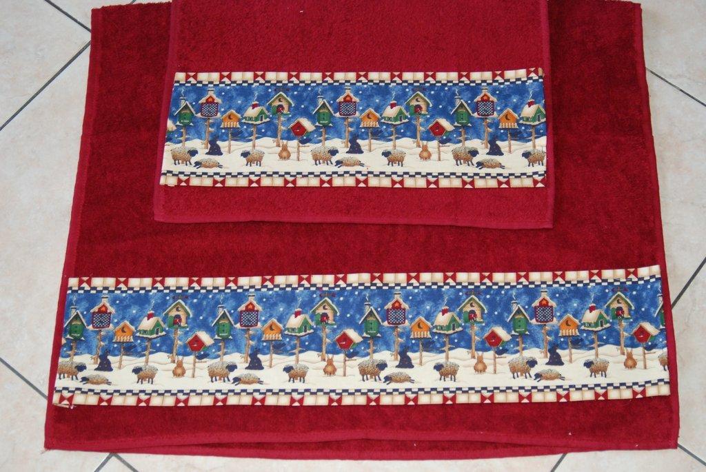 Coppia Asciugamani Soggetto di Debbie Mum