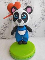 Panda innamorato da personalizzare