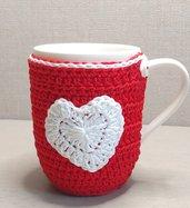 Tazza Mug con copritazza in cotone