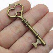 Pendente chiave bronzo 60mm