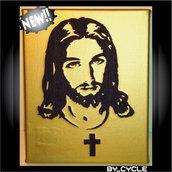 QUADRO_CELEBRITY Gesù oro