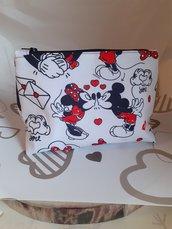 Pochette Minnie e topolino