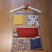 Porta oggetti, Porta tutto patchwork