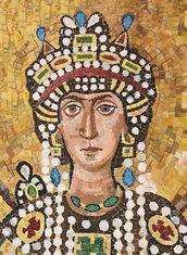 """Kit Mosaico """"Teodora """"- con tessere tagliate a mano"""