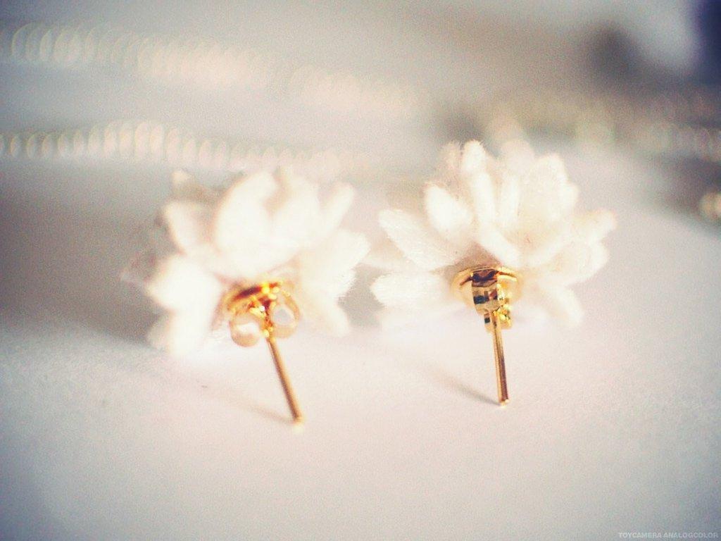 orecchini calla - calla lily studs