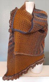Scialle/Stola in lana merino