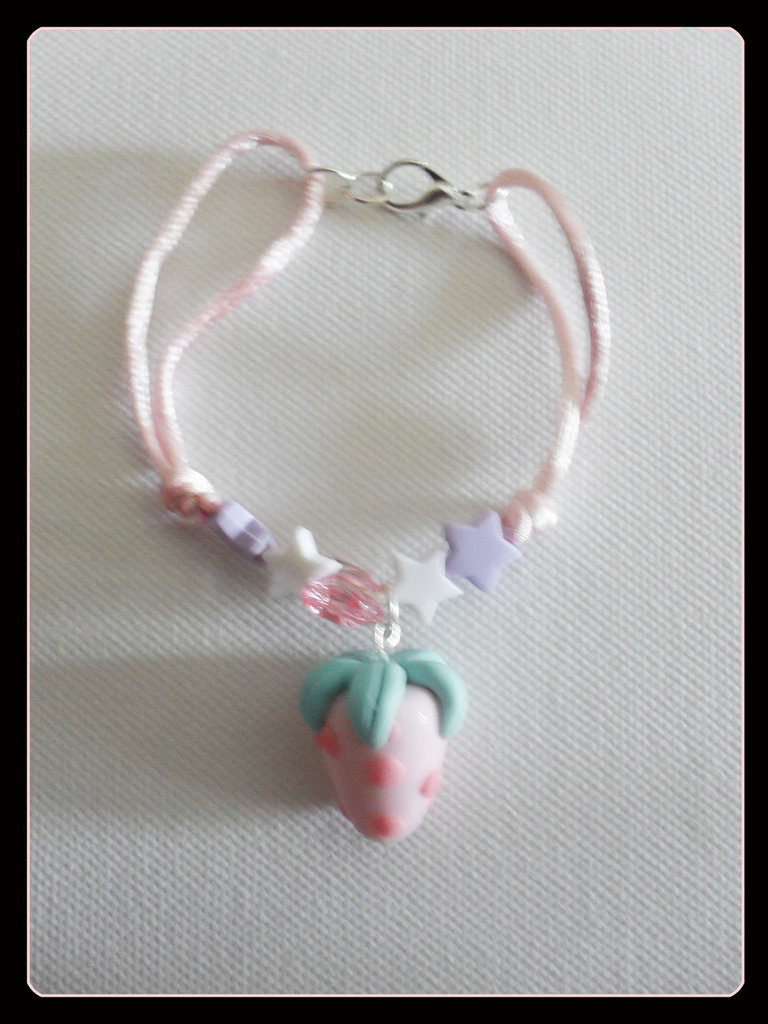 braccialetto fragolina