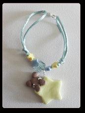 braccialetto stella+orsetto