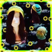 "Basco ""Sunflower"" uncinetto"