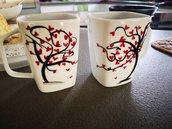 Tazze da tè, decorate a mano per le tue occasioni speciali.