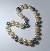 perle bijoux multicolor