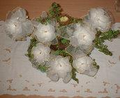 bomboniera fiore calza