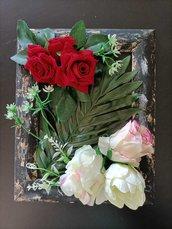 Cornice con rose