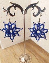 orecchini crystal star