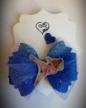 Fermacapelli con ballerina